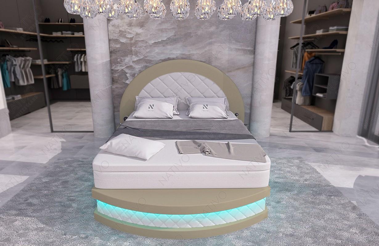 Mobile per il soggiorno SPACE MINI a forma di L con LED NATIVO