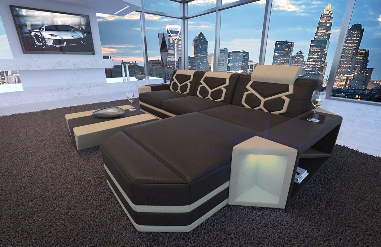 Divano di design AVENTADOR MINI con illuminazione a LED