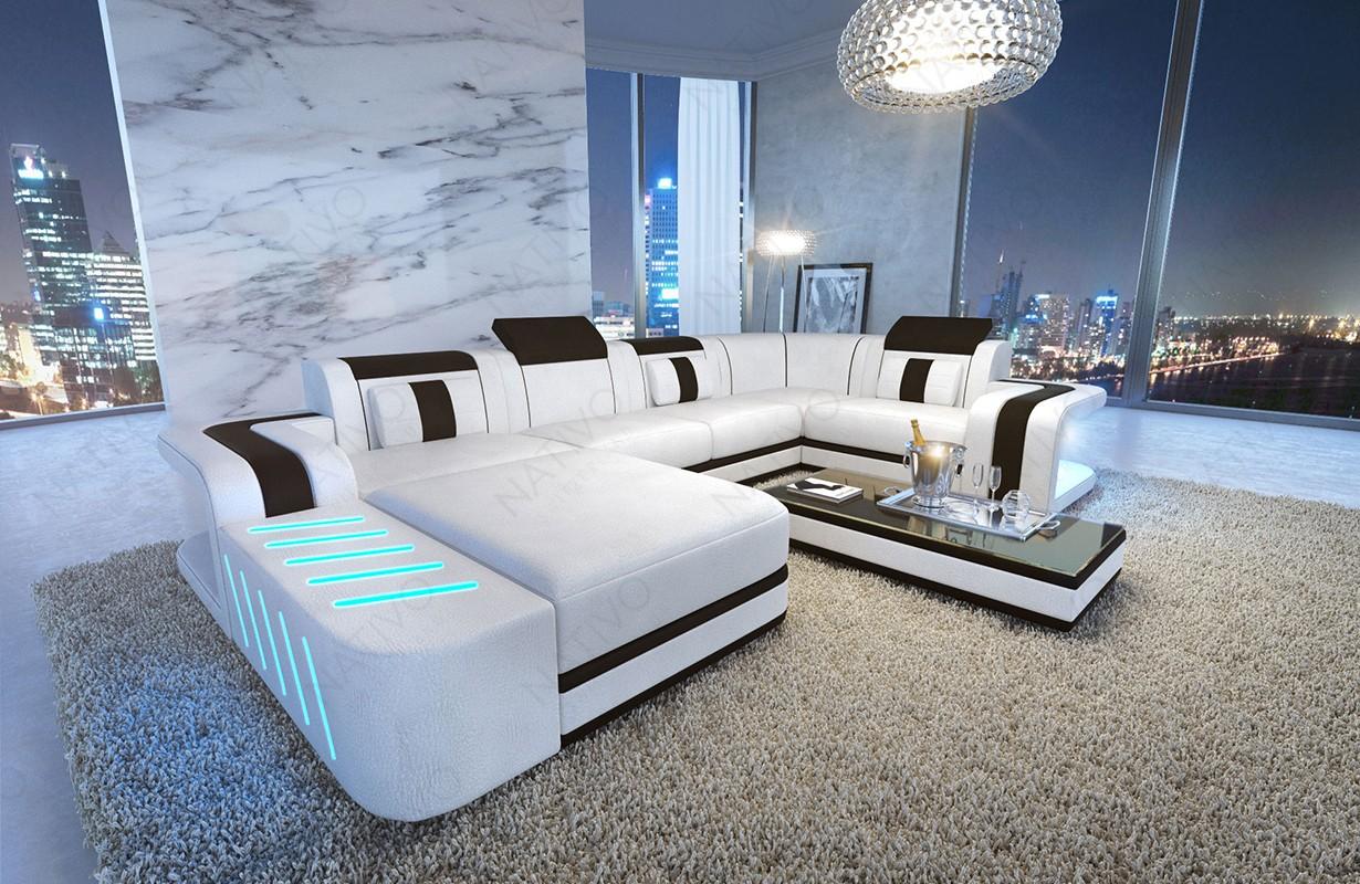 Divano di design SPACE XL con illuminazione a LED