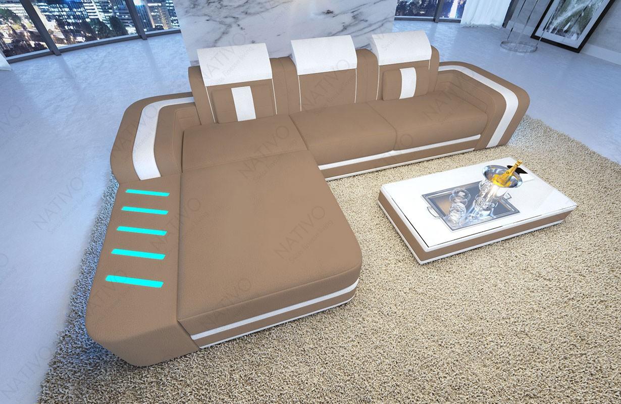 Divano di design SPACE MINI con illuminazione a LED