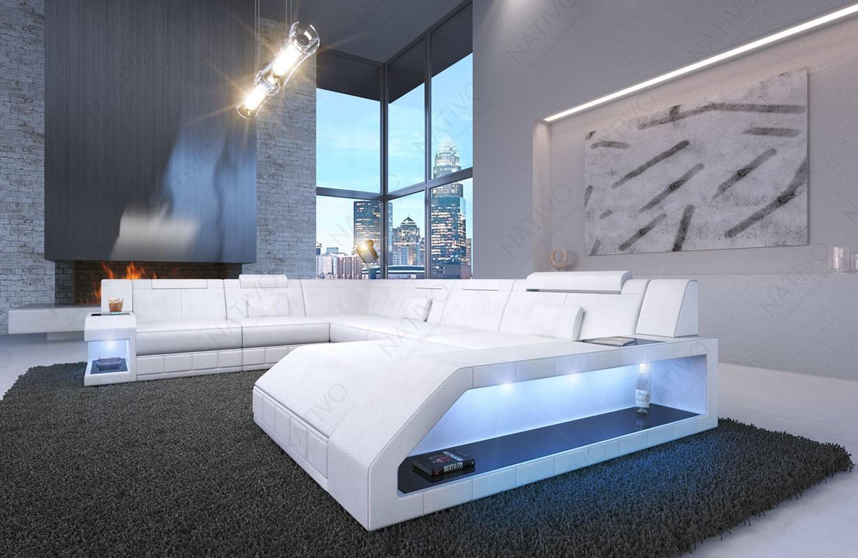 Divano di design MATIS XXL con illuminazione a LED