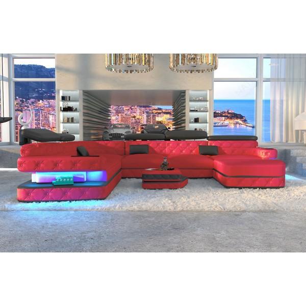 Divano di design AVENTADOR XL con illuminazione a LED NATIVO mobili Italia