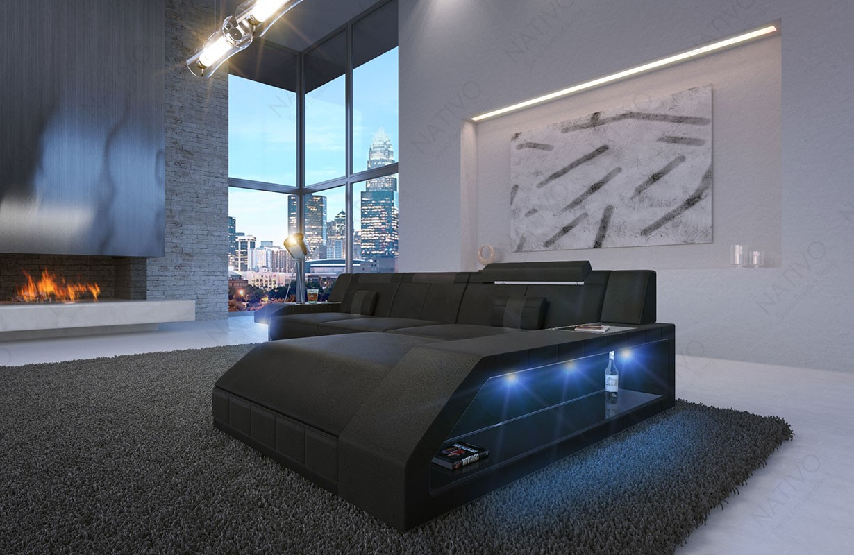 Divano di design MATIS MINI con illuminazione a LED