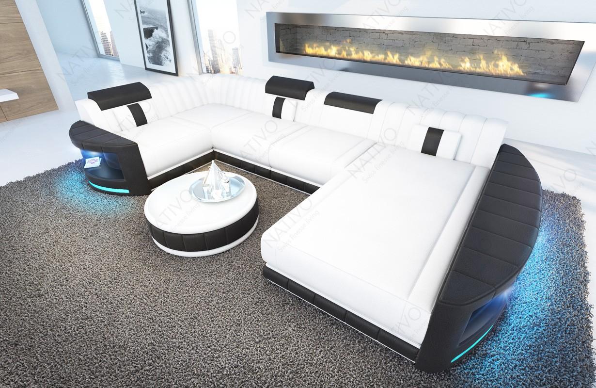 Divano di design ATLANTIS XL con illuminazione a LED