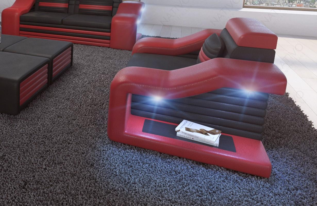 Poltrona di design MIRAGE con illuminazione a LED