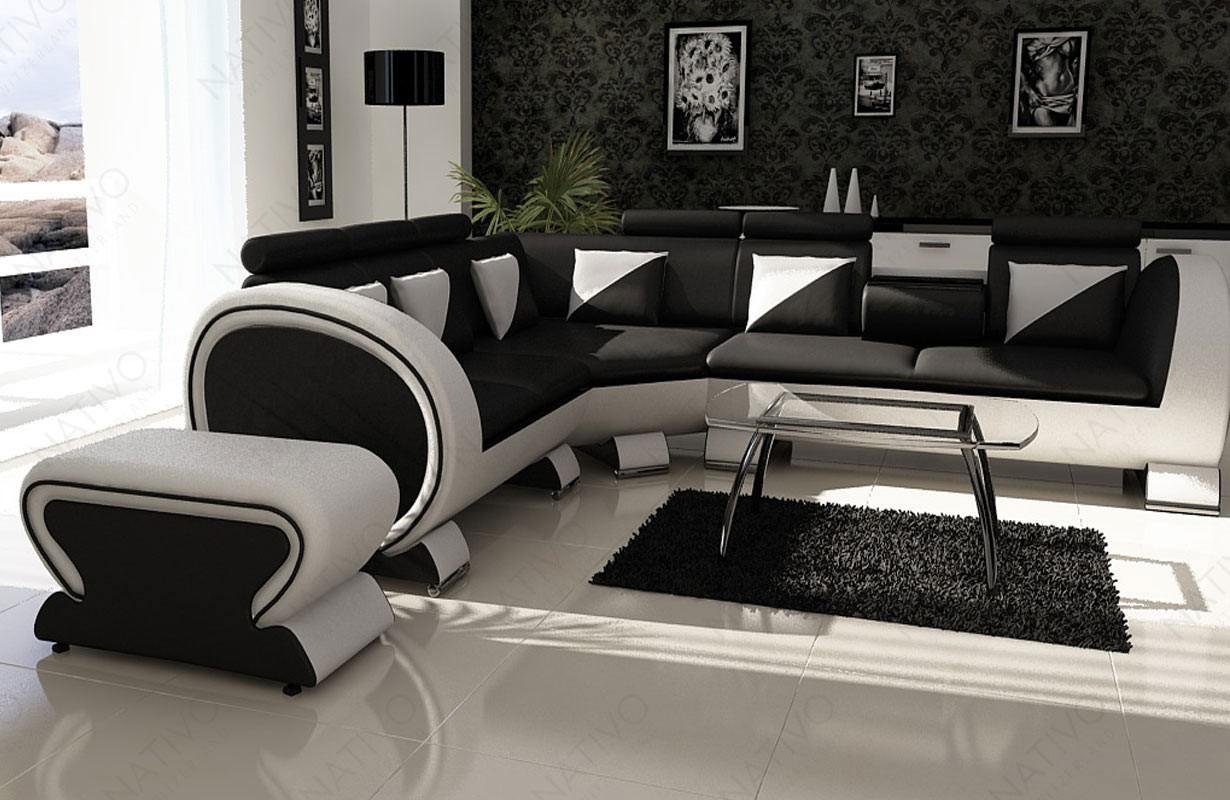 Divano di design BEACHO CORNER con portabevande