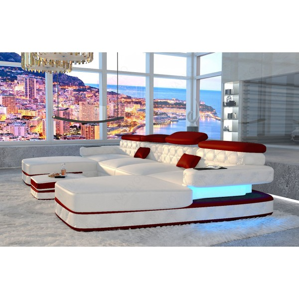 Divano di design AVENTADOR MINI con illuminazione a LED NATIVO mobili Italia