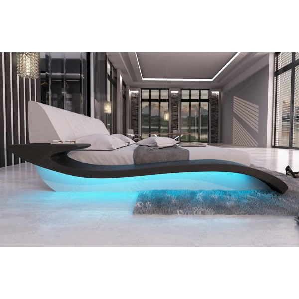 Divano di design AVENTADOR 3+2+1 con illuminazione a LED NATIVO mobili Italia