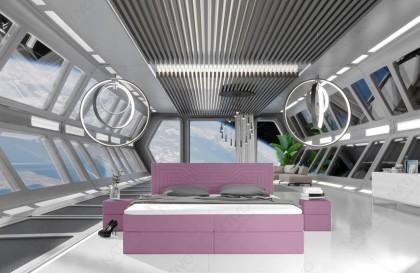 Divano in tessuto a 2 posti HERMES con illuminazione a LED NATIVO mobili Italia