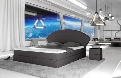 Divano in tessuto a 2 posti SPACE con illuminazione a LED NATIVO mobili Italia