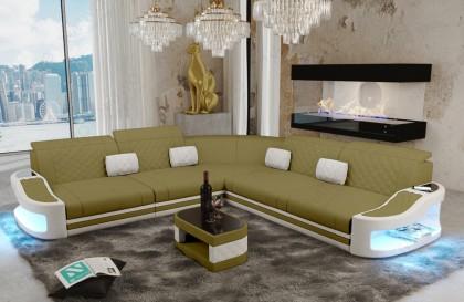 Divano in tessuto a 2 posti ATLANTIS con illuminazione a LED NATIVO mobili Italia