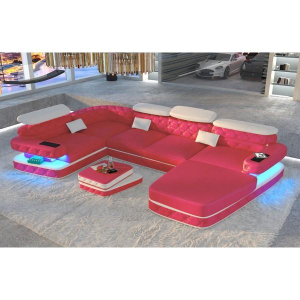 Divano di design SPACE MINI con illuminazione a LED NATIVO mobili Italia