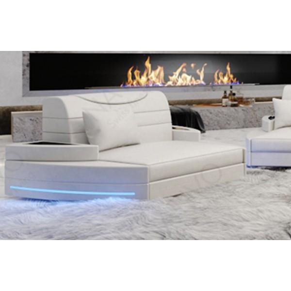 Letto completo LENOX con illuminazione a LED NATIVO mobili Italia