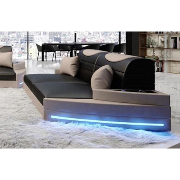 Letto completo FLOYD con illuminazione a LED NATIVO mobili Italia