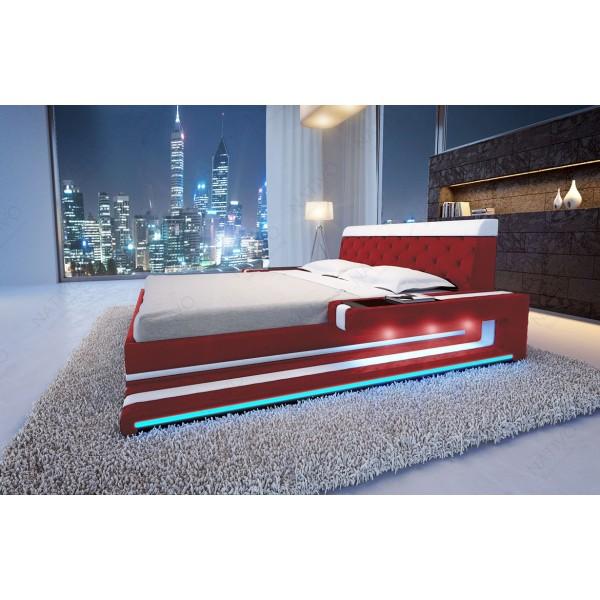 Divano di design SPACE CORNER con illuminazione a LED NATIVO mobili Italia
