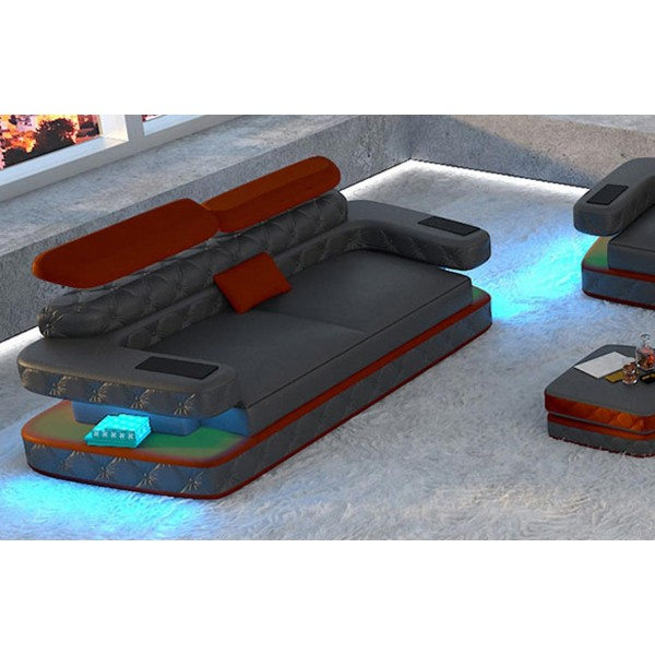 Divano di design MATIS XL con illuminazione a LED NATIVO mobili Italia
