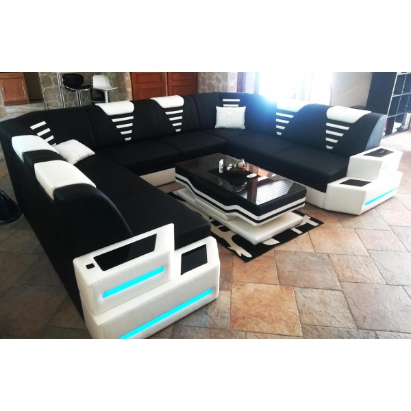 Divano di design CESARO MINI con illuminazione a LED NATIVO mobili Italia
