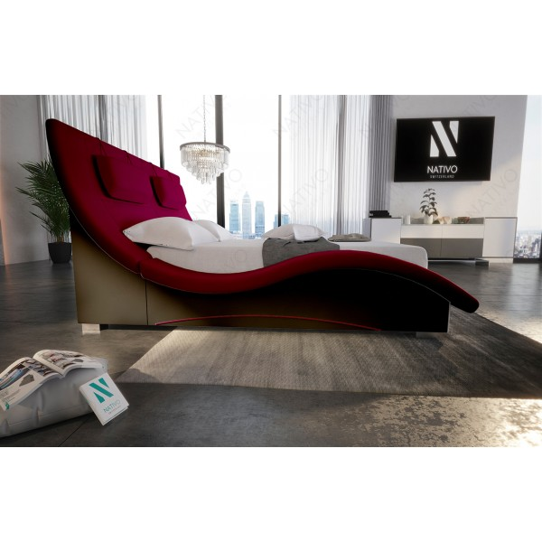 Divano di design IMPERIAL XXL con illuminazione a LED NATIVO mobili Italia