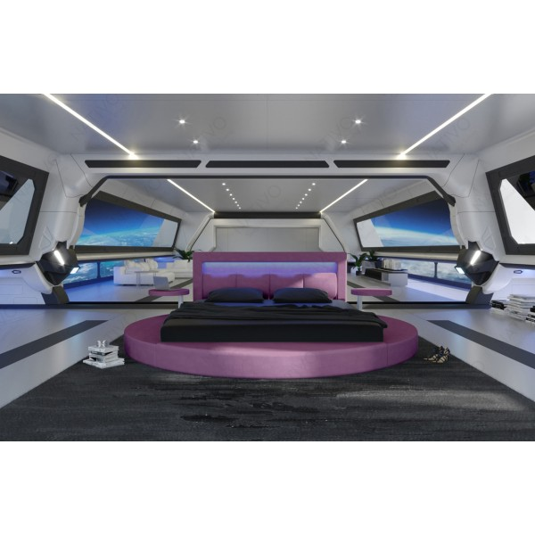 Divano di design CAREZZA XXL con illuminazione a LED NATIVO mobili Italia
