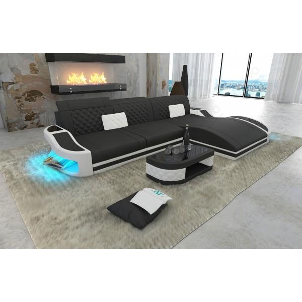 Divano di design MIRAGE XXL con illuminazione a LED NATIVO mobili Italia