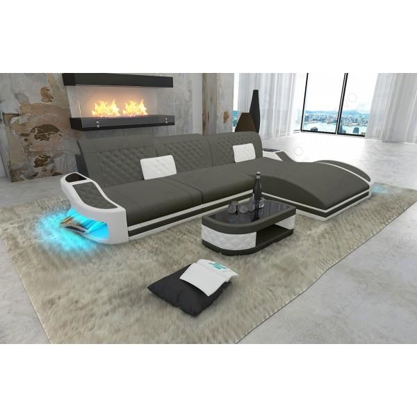 Divano di design MIRAGE XL con illuminazione a LED NATIVO mobili Italia