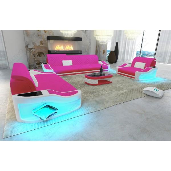 Divano di design MIRAGE MINI con illuminazione a LED NATIVO mobili Italia