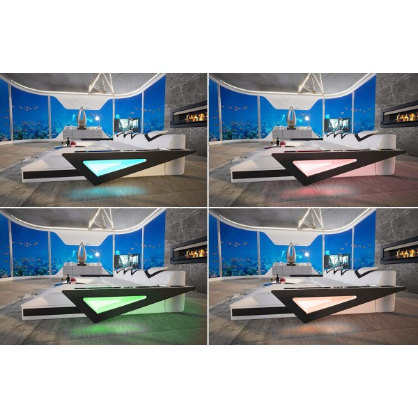 Divano di design MESIA XXL con illuminazione a LED NATIVO mobili Italia