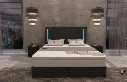 Letto di design EVERLAST con illuminazione a LED