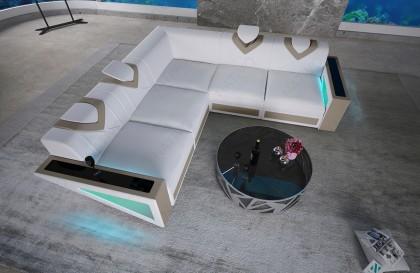 Letto di design COCO con illuminazione NATIVO mobili Italia
