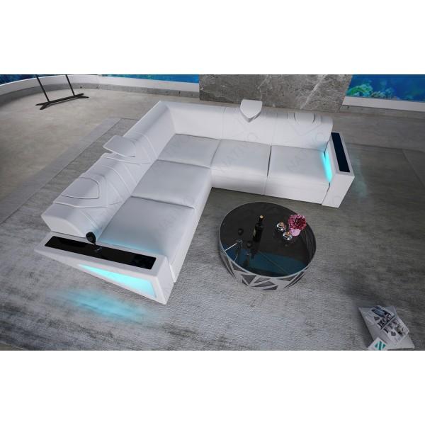 Letto di design COCO V2 con illuminazione NATIVO mobili Italia