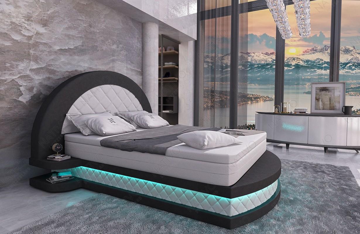 Letto di design MOON V2 con illuminazione NATIVO mobili Italia