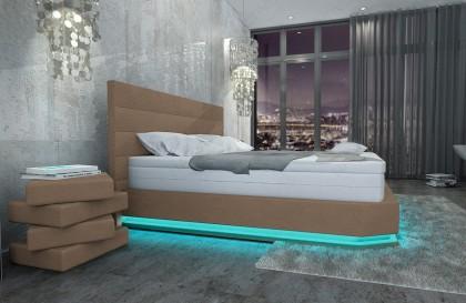 Divano Lounge TORRO XXL in rattan con illuminazione a LED NATIVO mobili Italia