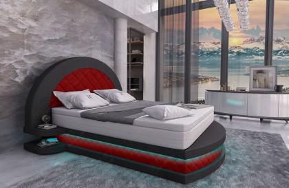 Set Lounge in rattan FELIX giardino (6 pezzi) V1 NATIVO mobili Italia