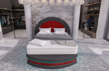 Set da bar Lounge in rattan HARMONY giardino (5 pezzi) V1 NATIVO mobili Italia