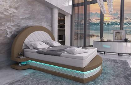 Set Lounge in rattan CORALE giardino (6 pezzi) V1 NATIVO mobili Italia