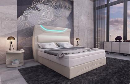 Divano di design ANGEL con mensole integrate NATIVO mobili Italia