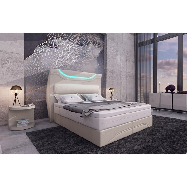 Divano di design ANGEL con mensole integrate ed illuminazione LED