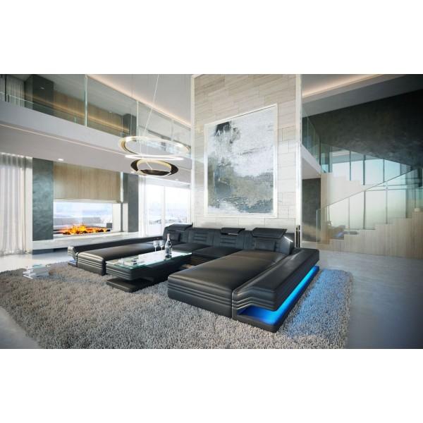 Divano di design BEACHO MAXI con portabevande NATIVO mobili Italia