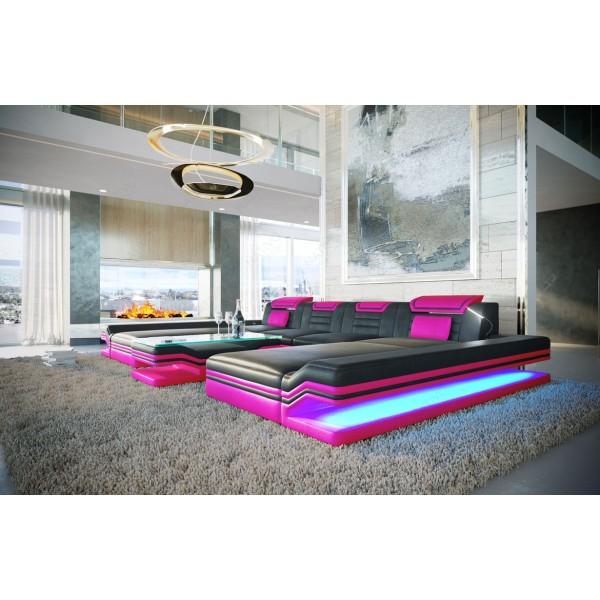 Divano di design BEACHO 3+2+1 con funzione relax NATIVO mobili Italia