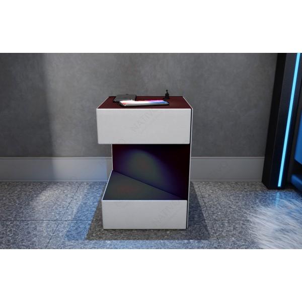 Divano di design CLERMONT XXL con illuminazione a LED NATIVO mobili Italia