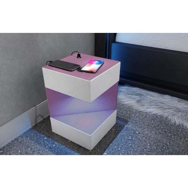Divano di design CLERMONT XL U con illuminazione a LED NATIVO mobili Italia