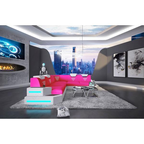 Divano di design CLERMONT MINI con illuminazione a LED NATIVO mobili Italia